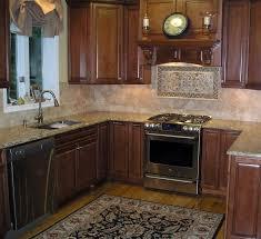 Kitchen Backsplash Accent Tile Kitchen Backsplash Ideas Cherry Wood Kitchen Cabinet Green In