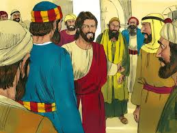 free bible images jesus heals a boy who has been made dumb by an