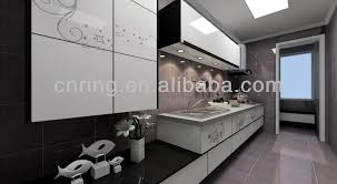 2015 affordable modern wood kitchen cabinet penang selling