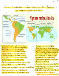 Spanish Speaking Countries Map Worth County High