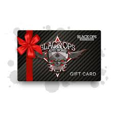Black Ops Ford Black Ops Gift Cards