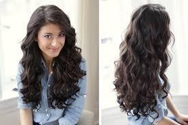 how to curl your hair fast with a wand simple curling techniques for straight long hair