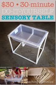 The 30 30 Minute Do It Yourself Sensory Table Sensory Table