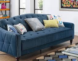futon bo amazing leather futon sofa bed amazon com dhp julia