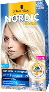 silver blonde color hair toner schwarzkopf nordic blonde nordic blonde l101 cool metallic