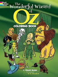wonderful wizard oz coloring book