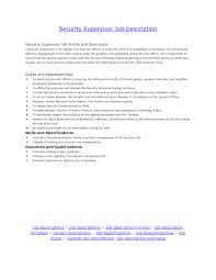 resume job description samples doc 460595 manufacturing supervisor job description production security supervisor responsibilities manufacturing supervisor job description production supervisor job resume