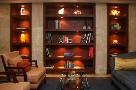 Ideas For Bookshelves by Lighting Bookshelves Wood Book Shelves With Lights On For