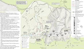 Oak Mountain State Park Trail Map by Tilden Nature Area