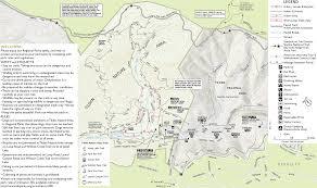 Map Central Park Tilden Nature Area