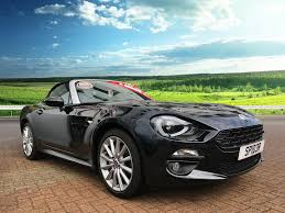 used 2017 fiat 124 spider multiair lusso 1 4 140ps stylish 2