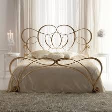 Italian Bedroom Furniture London Italian Iron Gold Leaf Swirls Bed Juliettes Interiors Chelsea