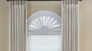 Curtains For Windows With Arches Arch Window Shade Shop Arched Window Treatments Blinds