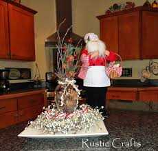 Rustic Christmas Centerpieces - how to make a rustic centerpiece for christmas rustic crafts