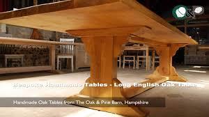Oak Boardroom Table Bespoke Handmade Oak Tables Long English Oak Dining Or Boardroom
