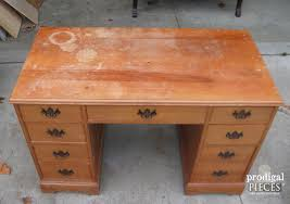 Small Vintage Desk Top Of Desk Before Prodigal Pieces