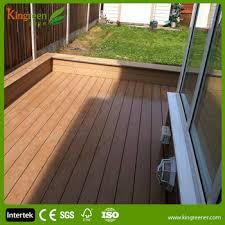 recycled plastic lumber plastic wood wpc outdoor decking floor
