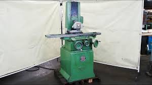 magnetic table for surface grinder reid 6 x 18 surface grinder walker magnetic chuck youtube