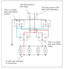 diagram of a ground side switched relay circuit