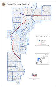 Denver Neighborhoods Map Maps Democratic Party Of Denver