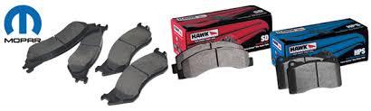 dodge ram 1500 brake pads dodge ram mopar and hawk brake pads