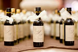 favors wedding wine wedding favors