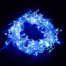 800 led christmas icicle lights blue white crazy sales