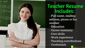 Best Resume Format For Teachers by Best Resume Samples For Teachers Resume 2018