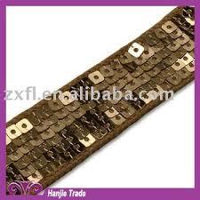 sequin ribbon wholesale sequin square sequin ribbon paillette trim for