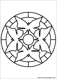 easy simple mandala 65 coloring pages printable
