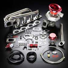 b20 b23 b230 t04e stage ii turbo charger manifold upgrade kit for