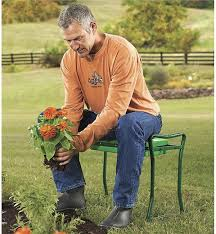 Garden Kneeler Bench Folding Garden Kneeler Seats With Foam Pad Collection Accessories