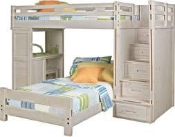 Find Bunk Beds Creekside Wash Step Bunk Bed With Desk 888 0