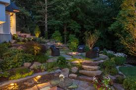 Landscape Lighting Company Landscaping Company In Vienna Va Wheat S Landscape