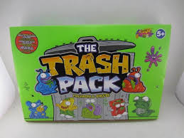 2017 box 24 bag mail cartoon trash pack garbage monster trash