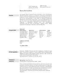Technical Writer Resume Summary Templates Profile Examples Resume Template Cover Letter With Resume
