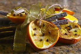 diy cinnamon orange tree decorations eltoria