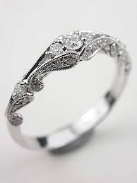 wedding rings vintage vintage style wedding rings wedding corners