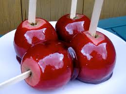 halloween candy apple sticks salted vanilla toffee apples north south food