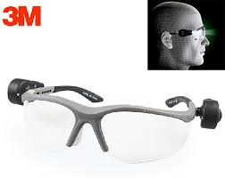 safety glasses for led lights 3m 11476 protective led safety goggles dual bright led lights