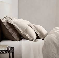 Passport Comforter Washed Belgian Linen Bedding Collection