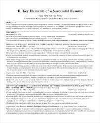 easy to read resume format resume format 17 free word pdf documents download free