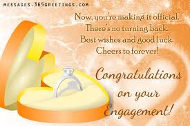 Congratulations On Engagement Card Engagement Wishes 365greetings Com