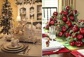 christmas table decorations modern christmas table decorations world inside pictures