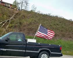 Flag Pole Mount For Truck Bed P4080606 Flag Flying In Truck Bed Kevin Wildermuth Flickr