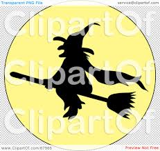 halloween background witch moon royalty free rf clipart illustration of a silhouetted wicked