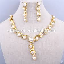 gold sets images gold pearl jewelry set white 18 carat gold jewelry sets