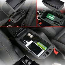 jeep renegade accessories center console armrest storage secondary tray box for 2015 2016