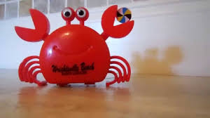 halloween wind up toys walking wiggling crab toy video feeling crabby youtube
