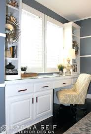 desk a cozy home office white built in desk with gramercy desk a cozy home office white built in desk with gramercy desk chair from ballard designs appealing a cozy home office white built in desk with gramercy desk